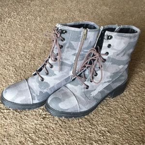 Madden Girl Camo boots